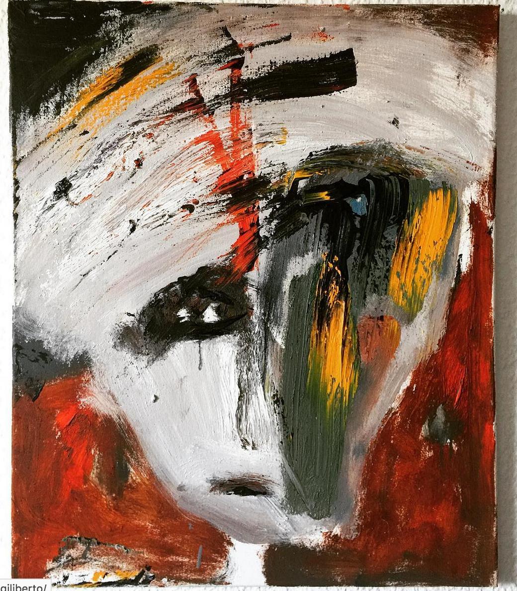 """Künstler Bilder """"Faces: Loved"""" Künstlerin Kvila Bristenia, 50x60, Öl auf Leinwand, 11.2017 Künstler Bilder kaufen, Dresden Bilder online bestellen, Künstler Bilder online kaufen, Künstler Gemälde, Leinwandbild online kaufen, Bilder fürs Wohnzimmer"""