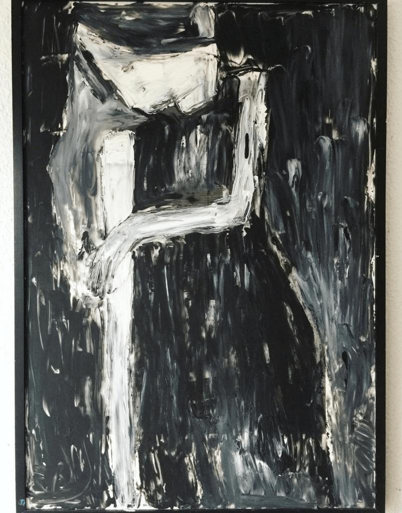 """""""Stiky Hair"""", 72×103, Kvila Bristenia"""